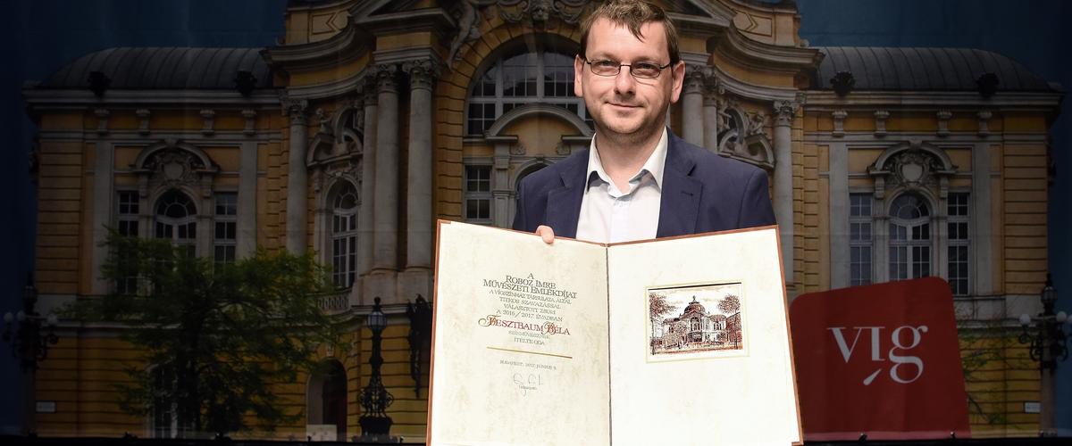Fesztbaum Béla Roboz Imre-díjas