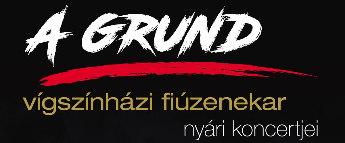 A GRUND – vígszínházi fiúzenekar nyári koncertjei
