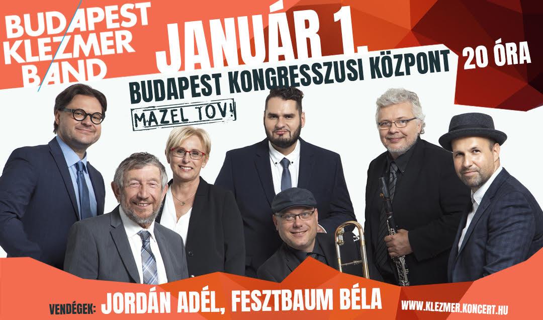 Budapest Klezmer Band koncert – vendég: Fesztbaum Béla és Jordán Adél
